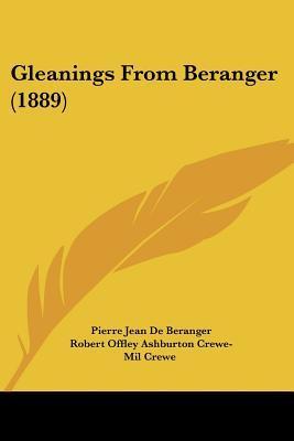 Gleanings from Beranger (1889)