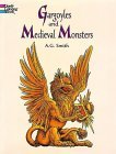 Gargoyles and Medieval Monsters Coloring Book