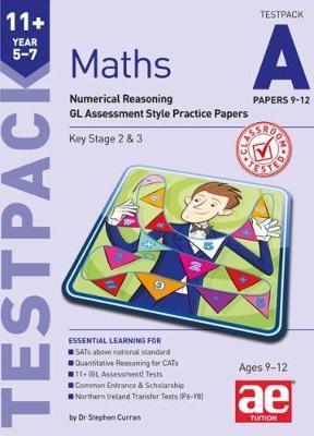 11+ Maths Year 5-7 Testpack A Papers 9-12