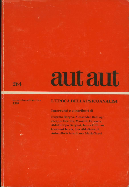 aut-aut n. 264/1994 ...