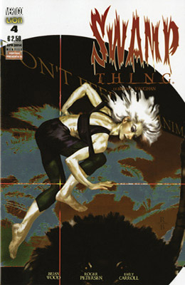 Swamp Thing di Brian K. Vaughan n. 4