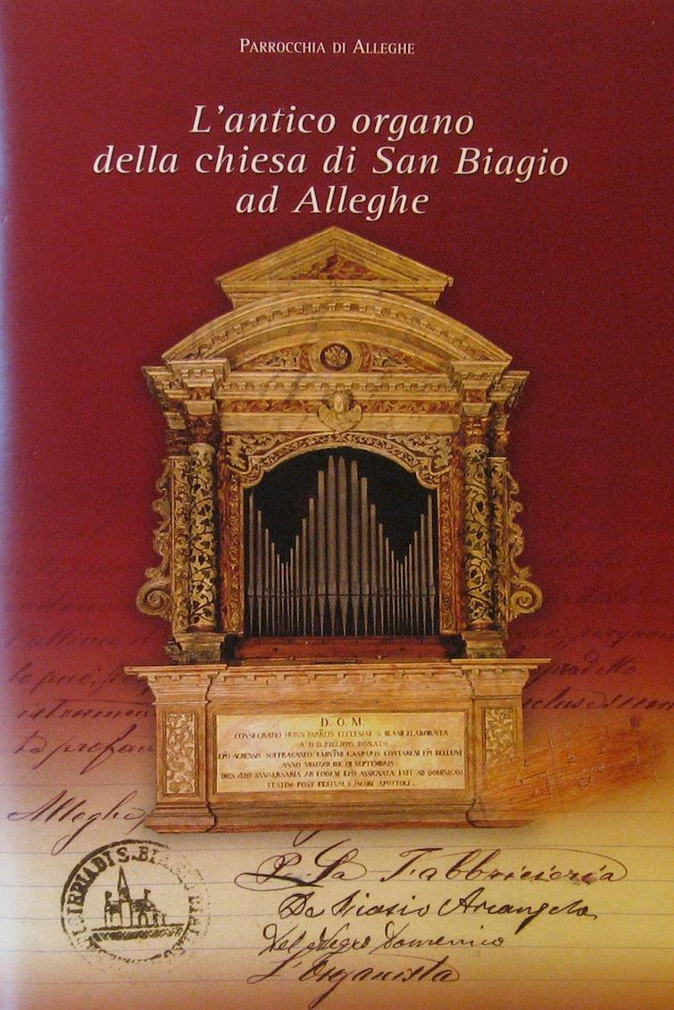 L'antico organo della chiesa di San Biagio di Alleghe