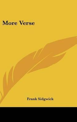 More Verse