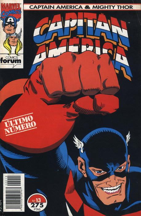 Capitán América y Thor el poderoso Vol.2 #13 (de 13)