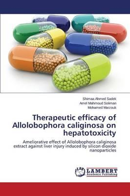 Therapeutic efficacy of Allolobophora caliginosa on hepatotoxicity