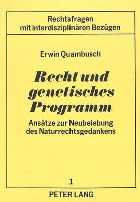 Recht und genetisches Programm