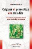 Origines et prévention des maladies