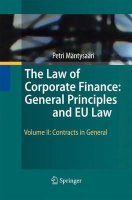 The Law of Corporate Finance