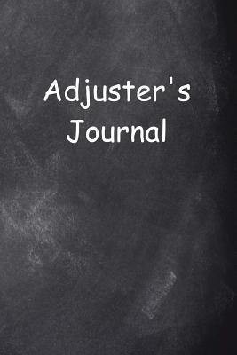 Adjuster's Journal Chalkboard Design