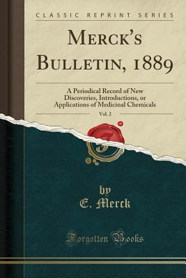 Merck's Bulletin, 1889, Vol. 2
