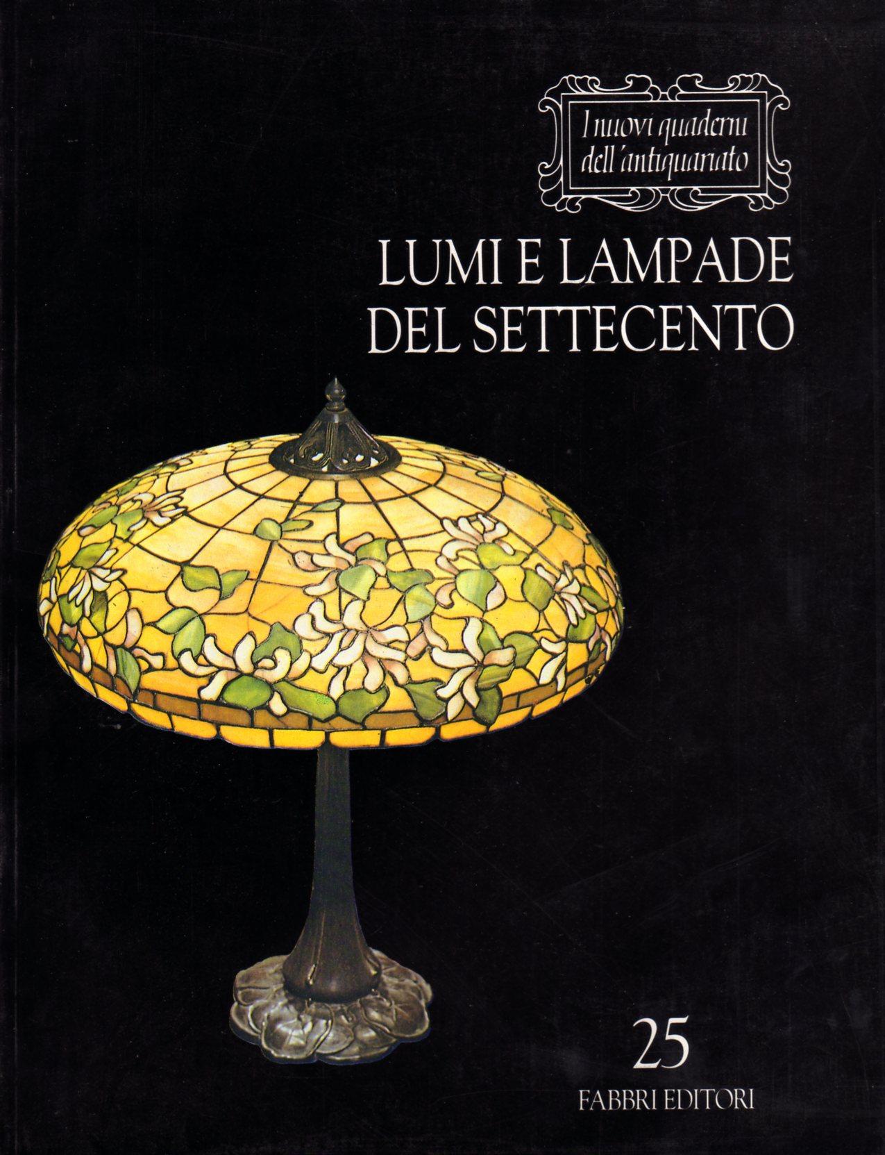 Lumi e lampade del settecento
