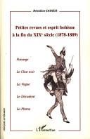 Petites revues et esprit bohème à la fin du XIXe (1878-1889)