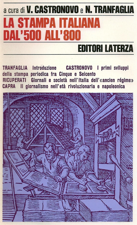 La stampa italiana dal '500 all'800