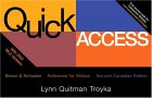 Quick Access Reference for Writers, Second Canadian Edition