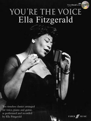Ella Fitzgerald You're the Voice Piano/Voice/Guitar + CD