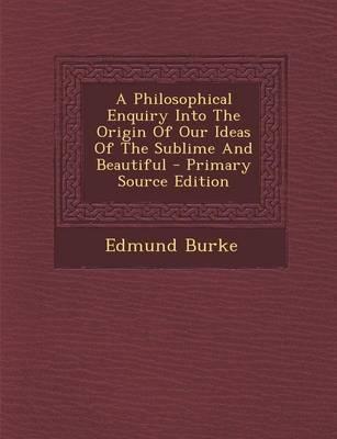 A Philosophical Enqu...