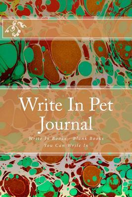 Write in Pet Journal
