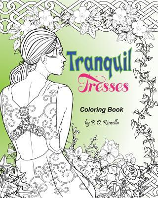 Tranquil Tresses Coloring Book