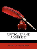 Critiques and Addres...