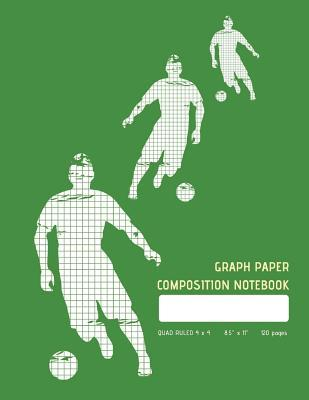 Graph Paper Composition Notebook - Green