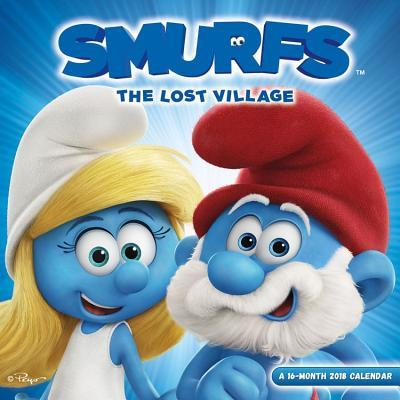 Smurfs the Lost Village 2018 Calendar