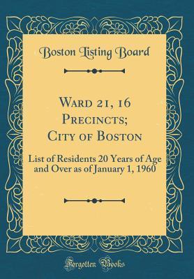 Ward 21, 16 Precinct...