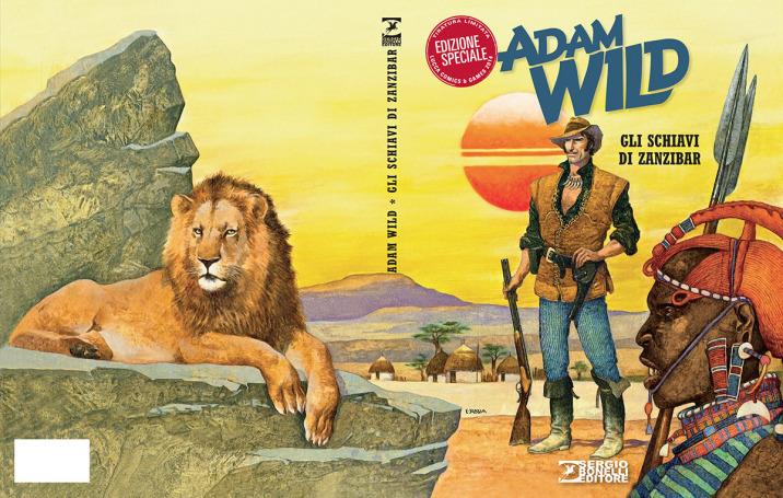 Adam Wild n. 1 - Variant Lucca Comics 2014