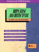 MIPS RISC Architecture