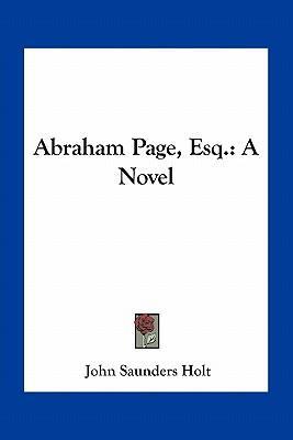 Abraham Page, Esq