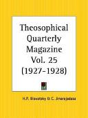 Theosophical Quarterly Magazine, 1927 to 1928