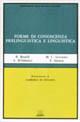 Forme di conoscenza prelinguistica e linguistica