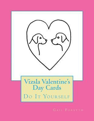Vizsla Valentine's Day Cards