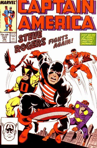 Captain America Vol.1 #337