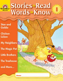 Stories to Read, Words to Know: Level I