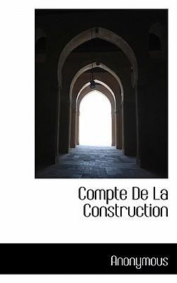 Compte de La Construction