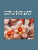 Romain Rolland's Jean-Christophe