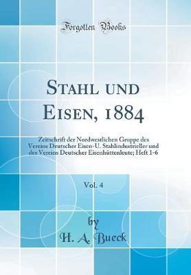 Stahl und Eisen, 1884, Vol. 4