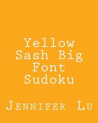 Yellow Sash Big Font Sudoku