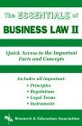 The Essentials of Business Law II