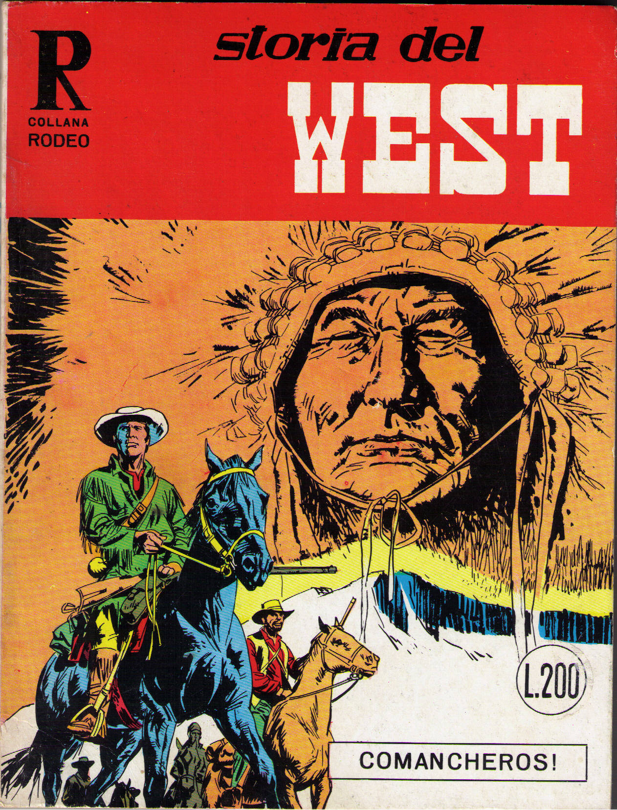 Storia del west n. 4 (Collana Rodeo n. 4)