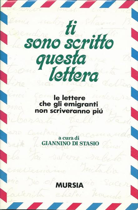 Ti sono scritto questa lettera