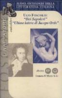 Dei sepolcri-Ultime lettere di Jacopo Ortis. Audiolibro