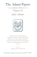 Papers of John Adams: February 1784 - March 1785 v. 16
