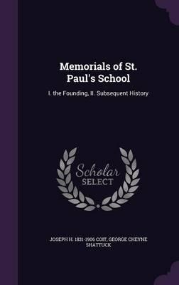 Memorials of St. Paul's School