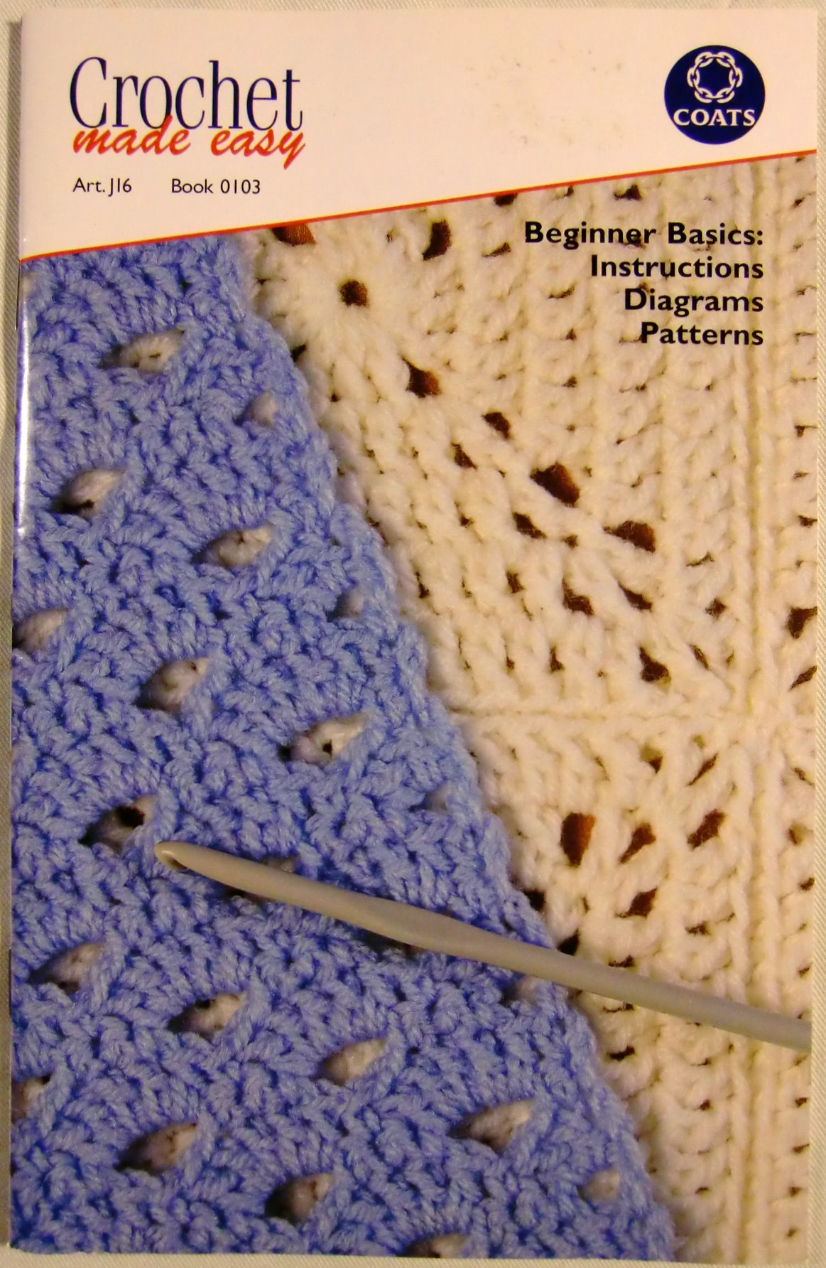 Crochet Made Easy [Coats Art.J16 Book 0103]