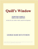 Quill's Window (Webster's Korean Thesaurus Edition)