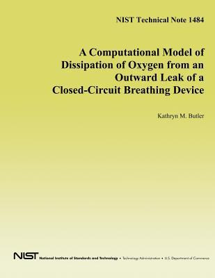 A Computational Model of Dissipation of Oxygen from an Outward Leak of a Closed