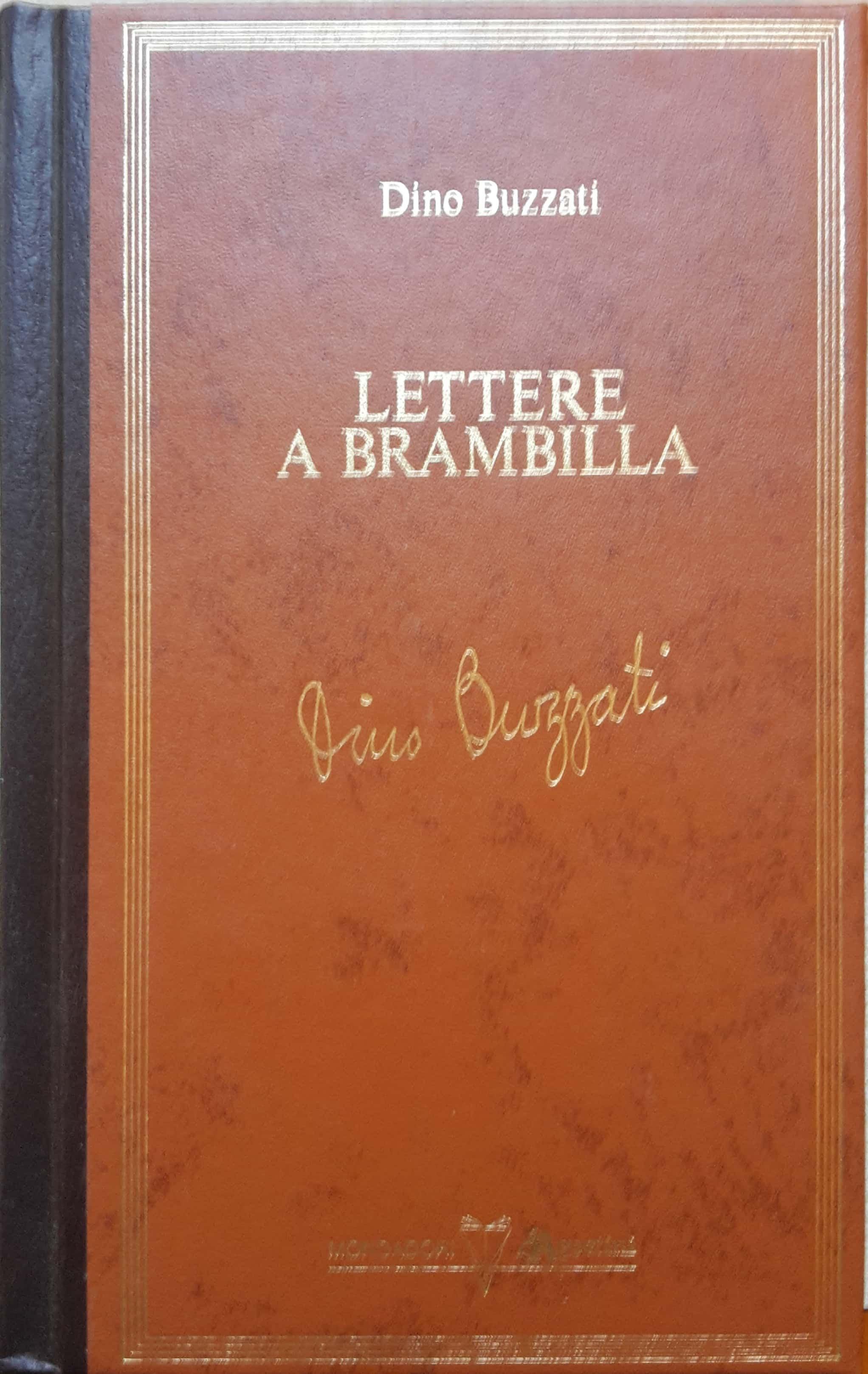 Lettere a Brambilla