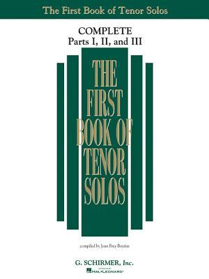 The First Book of Tenor Solos Complete - Parts I, II, and III