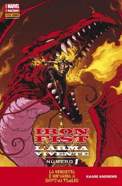 Iron Fist: L'arma vivente #1